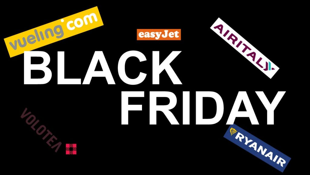Black Friday Compagnie Aeree