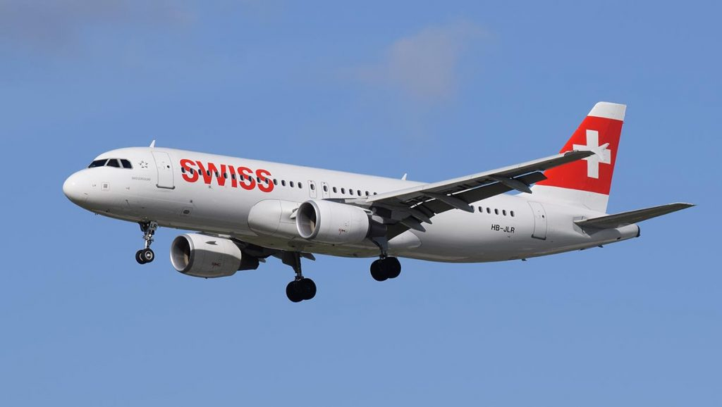 Reclamo Swiss Air Lines